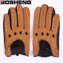 New Fashion Men′s Genuine Leather Wool Gloves / Driving Gloves