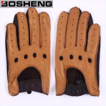Guantes de señora guantes de ciclismo de conducción guantes de cuero sin forro sin dedos