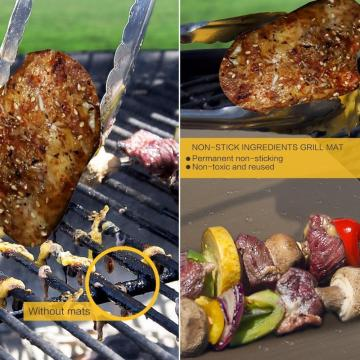 Heavy Duty 0.4mm Antihaft BBQ Grill Matte