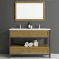 Popular aluminium minimalist bathroom cabinet