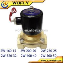 1 polegada 220 volt solenóide de água