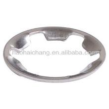 Anneau de serrage à enclenchement de type dent en acier inoxydable ou joint pour équipement de chauffage électrique