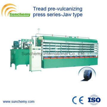 Jaw Type Tread Pre-Vulcanizing Press