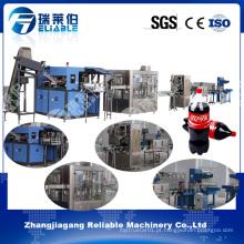 Máquina de engarrafamento automático de bebidas carbonatadas completas