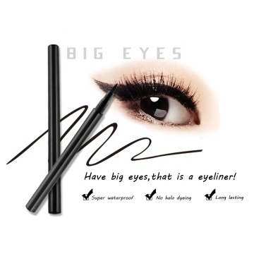 Liquid Eyeliner Waterproof Black Make Up Liner Lápiz