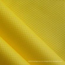 Impermeable Ripstop tela de nylon de diamantes para bolsas con PU (XQ-011)