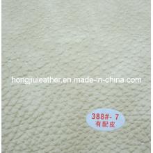 Material do sofá do plutônio de China, couro de couro de Rexine do sofá