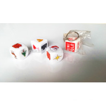 2.5CM Plastic Custom Printing Dice