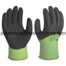 Sandy Nitrile Coated Glove for Winter (N1580)