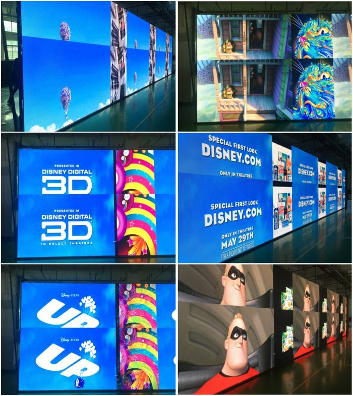 commercial led billboard screen