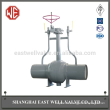 Features of screw valves fully welded ball valve