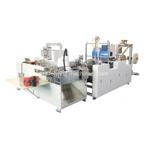 Mesin Paste Handle Paper Twisted Automatic