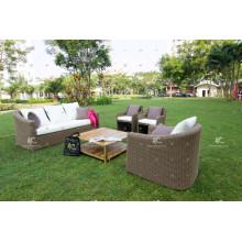 Synthetic Rattan Wicker Sofa