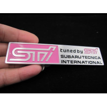 Customized Aluminum Name Plate with 3m Glue