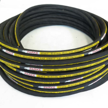 5/8 inch Steel Wire Reinforced Hydraulic Rubber Pipe Hose SAE 100 R12 R13