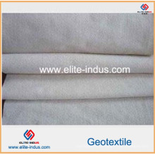 Geotêxtil de grande resistência 100g / Sqm dos PP da fibra de grampo
