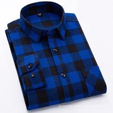 Fashion 100% cotton flannel shirt for men