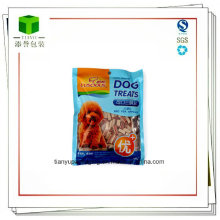 Pet Food Bag with Clear Window, Customized Sizes Are Welcome
