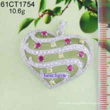 Jewelry CZ Silver Pendant (61CT1754)