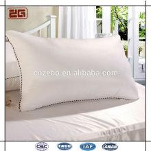 Hochwertiges weiches preiswertes Verkaufs-Hotel-Baumwolle / Polyester / Faser-Kissen / Kissen Inneres
