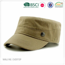 Adults Cotton Military Cap For Promotional
