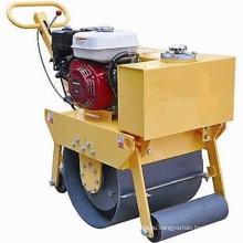 Двигатель Honda однобарабанный вибрационный дорожный каток