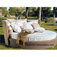 Rattan muebles jardín muebles/mimbre muebles/muebles/silla diván (5004)