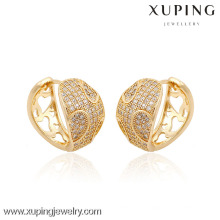 90389- Xuping Jewelry Fashion Hot Sale Earring With 18K Gold Plated