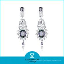 Usine-direct, bonne qualité bijoux en argent boucle d'oreille en 2016 (E-0139)