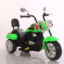 Weißes elektrisches Motorrad-Auto-Spielzeug, damit Kinder reiten