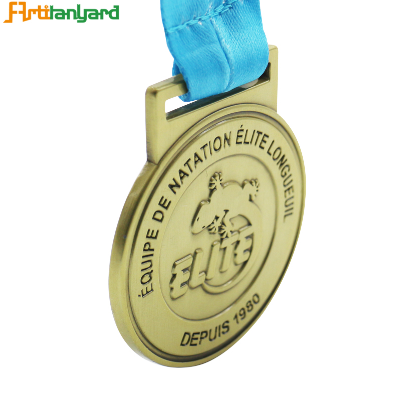 Embossed Special Logo On Metal Medals