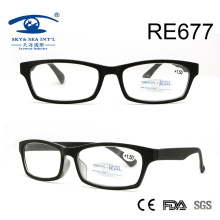 Винтаж моды высокого качества пластиковые очки для чтения (RE677)