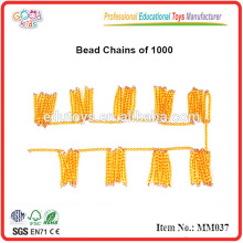 montessori material toys Bead Chains of 1000