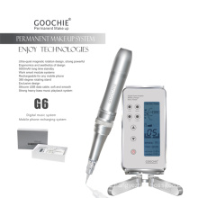 2016 Newest Permanent Makeup Eyebrow Tattoo G6 Machine with Music System