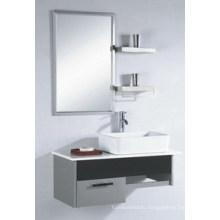 Hangzhou Популярный зеркальный шкаф из нержавеющей стали Керамический бассейн ванной тщеславие
