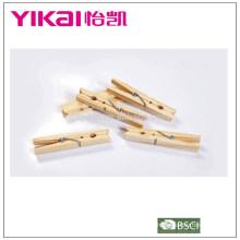 Ensemble Builk de pinces en bois en pin 24pcs insectes