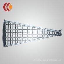 Professional Manufacturer Galvanized Spiral Stair Tread / Fan-shape Stair Tread