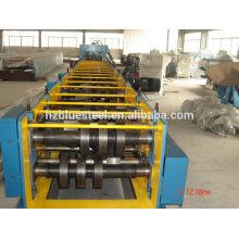 Acier structurel C purlins rouleau formant machine prix, métal c canal purlin roll formant machine à fabriquer