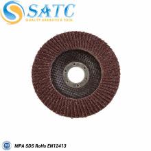 respaldos de disco de aleta abrasivos de alta calidad para pulidor