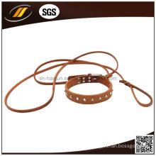 New Style Adjustable European Leather Dog Collar