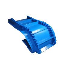 Conveyor Belt Flexible Sidewall Food PVC Conveyor System Oil Resistant for Short Distance Transportation 50x0.65x0.5 Provided