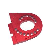 Industria de piezas de impresión de aluminio anodizado CNC para automóviles