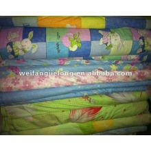 T/C 65/35 32x32 100x50 230cm printed bedsheeting stock