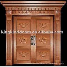 Luxus Kupfer Tür Villa Tür Außentür KK-716
