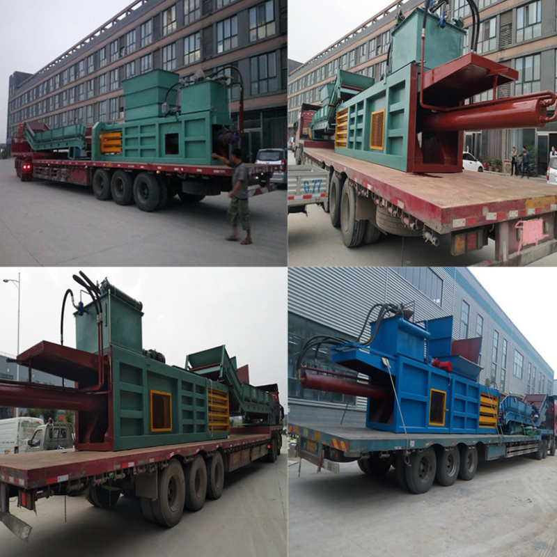 Horizontal Hydraulic scrap metal baler/baling machine/packing machine