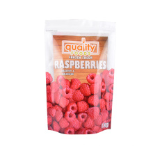 Free Sample Top Zip Laminated Aluminium Foil Pouch Bag Plastic Packing Bag Stand up Pouch Printed Food Paper Bag