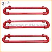 API 6A High Pressure Hose Loop / Short and Long Radius Flexible Manifold / integral type flexible manifold