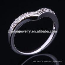 Fábrica de jóias profissional peso leve qualidade superior jóias 1 dólar anel