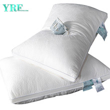 Home Bedding Set Plush Polyester Bed Pillows Comfortable Relief Pain