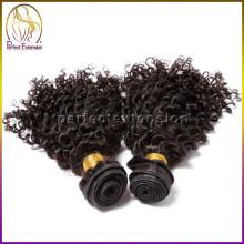 Versand aus China 1 b natürlichen menschlichen Haar mongolischen versauten glattes Haar Weben